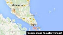 Batam Island, off coast of Malaysia.