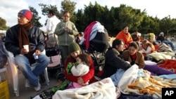 اسپین میں بعد از زلزلہ جھٹکوں سے لوگ میں خوف و ہراس
