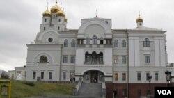 葉卡捷琳堡的滴血教堂。
