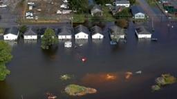 Cơn bão Florence hoành hành ở nước Mỹ hồi tháng Chín năm 2018