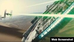 """Un tráiler de la próxima entrega de la franquicia cinematográfica de """"La Guerra de las Galaxias"""" fue lanzado el viernes."""