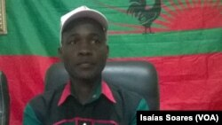 Mardanês Calunga, secretário provincial da Unita em Malanje, Angola