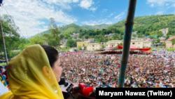 مریم نواز اپنے جلسوں میں حکومت کے ساتھ ساتھ اسٹیبلشمنٹ کو بھی تنقید کا نشانہ بناتی رہیں۔