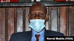 Freddy Kashoba, mokambi ya Bureau ya Assemblée provinciale ya Haut-Katanga oyo akweyisami, Lubumbashi, Haut-Katanga, 12 février 2021. (VOA/Narval Mabila)