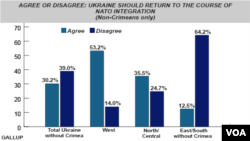 Gallup Poll - Should Ukraine return to NATO integration? - June, 2014