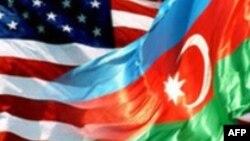 ABŞ və Azərbaycan bayraqları