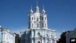 圣彼得堡的俄罗斯东正教堂