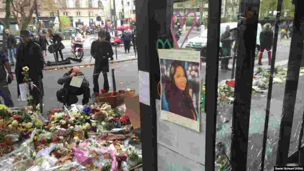 California State University student Nohemi Gonzalez, 23, was killed along with others at Cafe Bonne Biere restaurant in Paris Friday, when a series of attacks by Islamic State militants left more than 120 people dead.