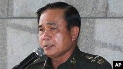 泰國陸軍司令巴育 (資料照片)