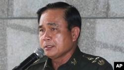 泰国陆军司令巴育(资料照片)