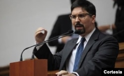 Freddy Guevara, primer vicepresidente de la Asamblea Nacional de Venezuela