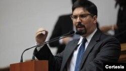 El diputado opositor y vicepresidente del parlamento de Venezuela, se encuentra en Washington tras su gira por Europa.