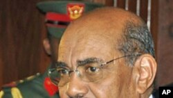 Sudanese President Omar al-Bashir talks before the final declaration of the result of the referendum at the Republican Palace in Khartoum, February 7, 2011 (file photo)