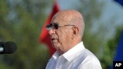 کیوبا کے نائب صدر ہوزے رمون مشاڈو وینچورا، یومِ انقلاب کے موقعہ پر خصوصی خطاب کے دوران