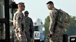 美国军人在伊拉克(资料照片)