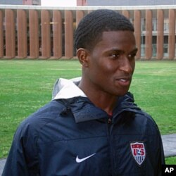US soccer team forward Edson Buddle, 18 May 2010