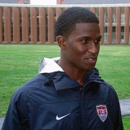 US soccer team forward Edson Buddle, 18 May 2010