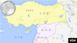 土耳其地图(包括叙吕奇)