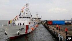 Tàu cảnh sát biển Philippines.
