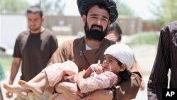 شمار زیادی از قربانیان جنگ اطفال و زنان اند
