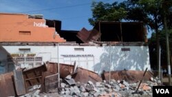 Gempa berkekuatan 5,7 Skala Richter melanda wilayah Great Lakes di Tanzania barat laut hari Sabtu (10/9).