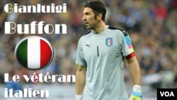 Gianluigi Buffon, 38 ans. Il a vécu la victoire italienne à la Coupe du Monde 2006, mais aussi le Mondial 1998 en France