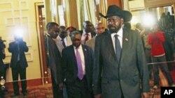 Kiongozi wa Sudan kusini Salva Kiir akiwasili Addis Ababa.