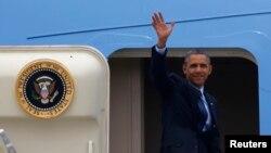 美國總統奧巴馬離開南韓,轉抵馬來西亞訪問。