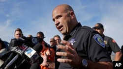 جارود بورگن رئیس پولیس ناحیۀ سان برناردینو