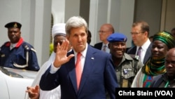 US Secretary of State Kerry Visits Northern Nigeria