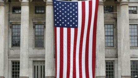美国民众庆祝建国239周年