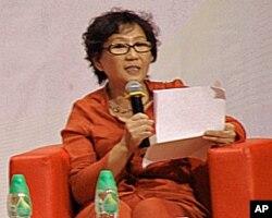 北京文化人徐晓在港演讲