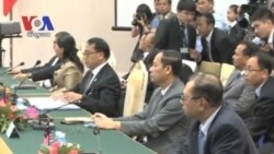 Regional Ministers Meet Over South China Sea Ahead of Security Meeting (Cambodia news in Khmer)