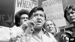 Cesar Chavez en 1975. El 31de marzo será su día nacional.