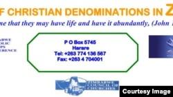 Zimbabwe Heads of Church Denominations