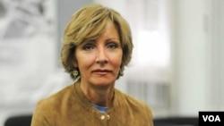 Jelena Milić, Izršna direktorka Centra za Evroatlantske studije, Beograd, Foto: VOA