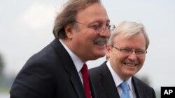 საქართველოს და ავსტრალიის საგარეო საქმეთა მინისტრები