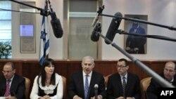 Биньямин Нетаньяху на заседании кабинета министров 1 мая 2011