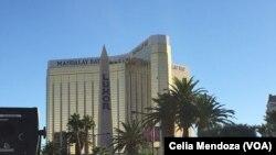 Hotel Mandalay Bay de Las Vegas inda harbin ya faru