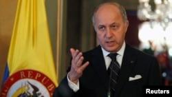 Ministan harkokin kasashen ketare na Kasar Faransa Laurent Fabius