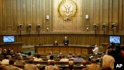 В зале Верховного суда РФ в Москве (архивное фото)