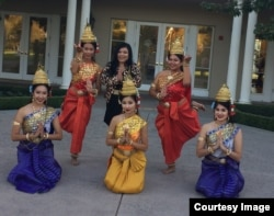 "Princess Norodom Soma and Apsara Dancers during ""Royal Rebel"" book launch, at Smittcamp Alumni House, Fresno, California, on Friday, October 21, 2016."