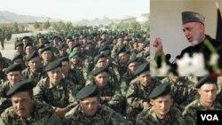 Presiden Afghanistan Hamid Karzai akan mengumumkan daerah untuk pengambil alihan tanggng jawab keamanan tahap kedua dari NATO hari ini (foto:dok).