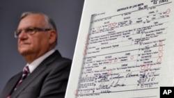El alguacil Joe Arpaio afirma que ahora están seguros de que el certificado de nacimiento de Obama es una copia falsa.