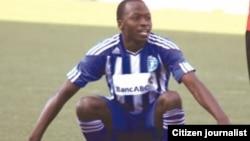 Dynamos and Zimbabwe Warriors midfielder, Devon Chafa. (Photo/Citizen Journalist)