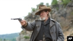 Jeff Bridges stars as Rooster Cogburn in the Coen brothers on-screen adaptation of Charles Portis' western novel, 'True Grit.'
