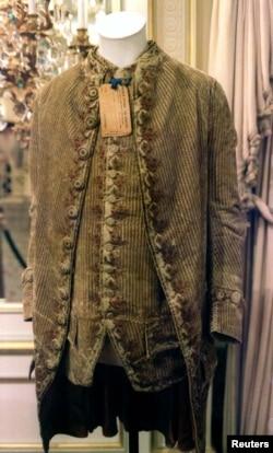 Jaket dan rompi polikrom George Washington sebagai ilustrasi. (Foto: Reuters)