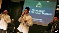 印尼的穆斯林。