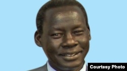 Former South Sudanese Minister of Cabinet Affairs Deng Alor Kuol