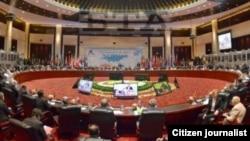 ກອງປະຊຸມສຸດຍອດຜູ້ນໍາເອເຊຍ-ຢູໂຣບ ຫຼື ASEM ຄັ້ງທີ 9 ທີ່ລາວເປັນການເປັນເຈົ້າພາບຈັດຂຶ້ນ ໃນຕົ້ນເດືອນ ພະຈິກ 2012 ນີ້.
